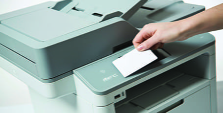 PRINTING ACCESS CARDS WITH SECURE PRINT