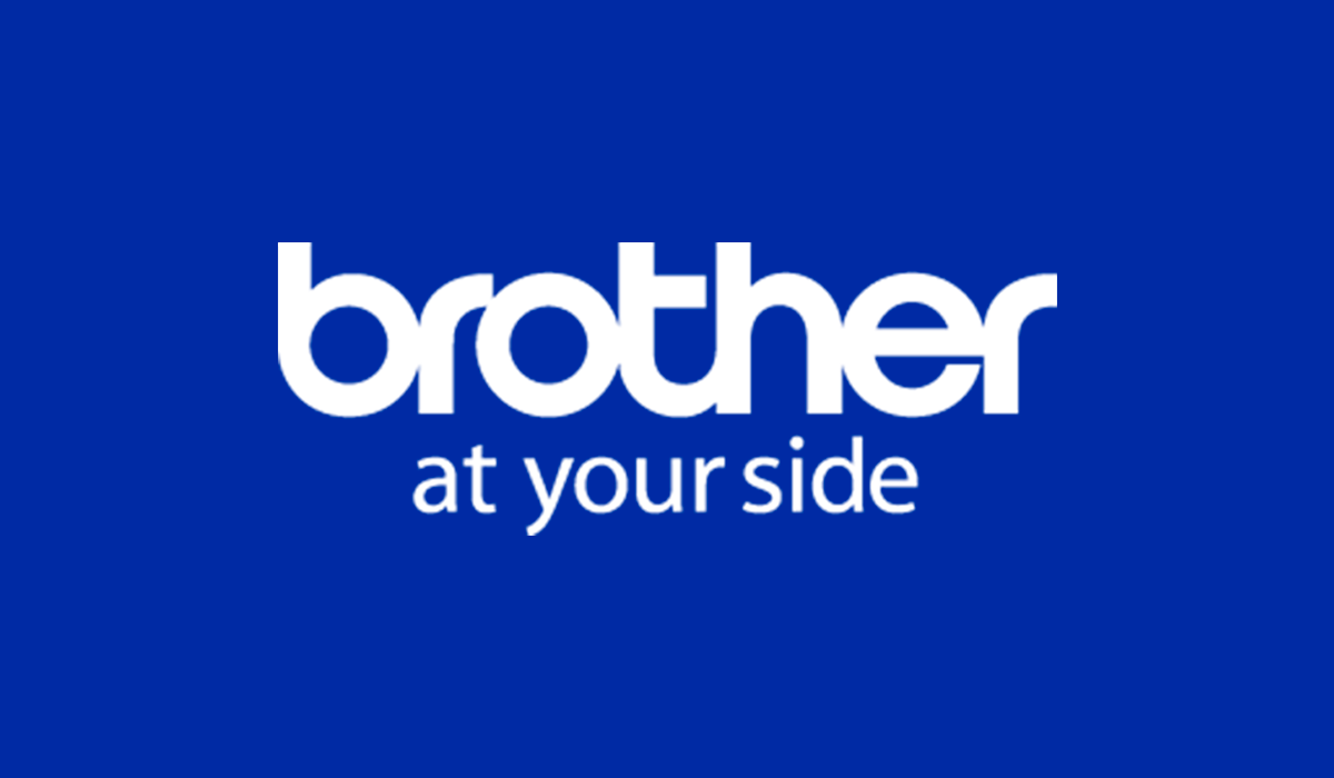 Логотип компании Brother со слоганом