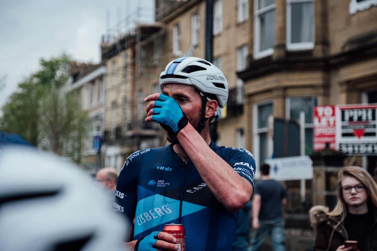 Cyclist Alex Paton