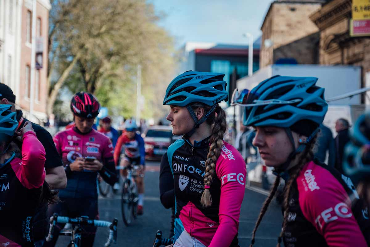 Charmaine Porter from Cycling Team OnForm