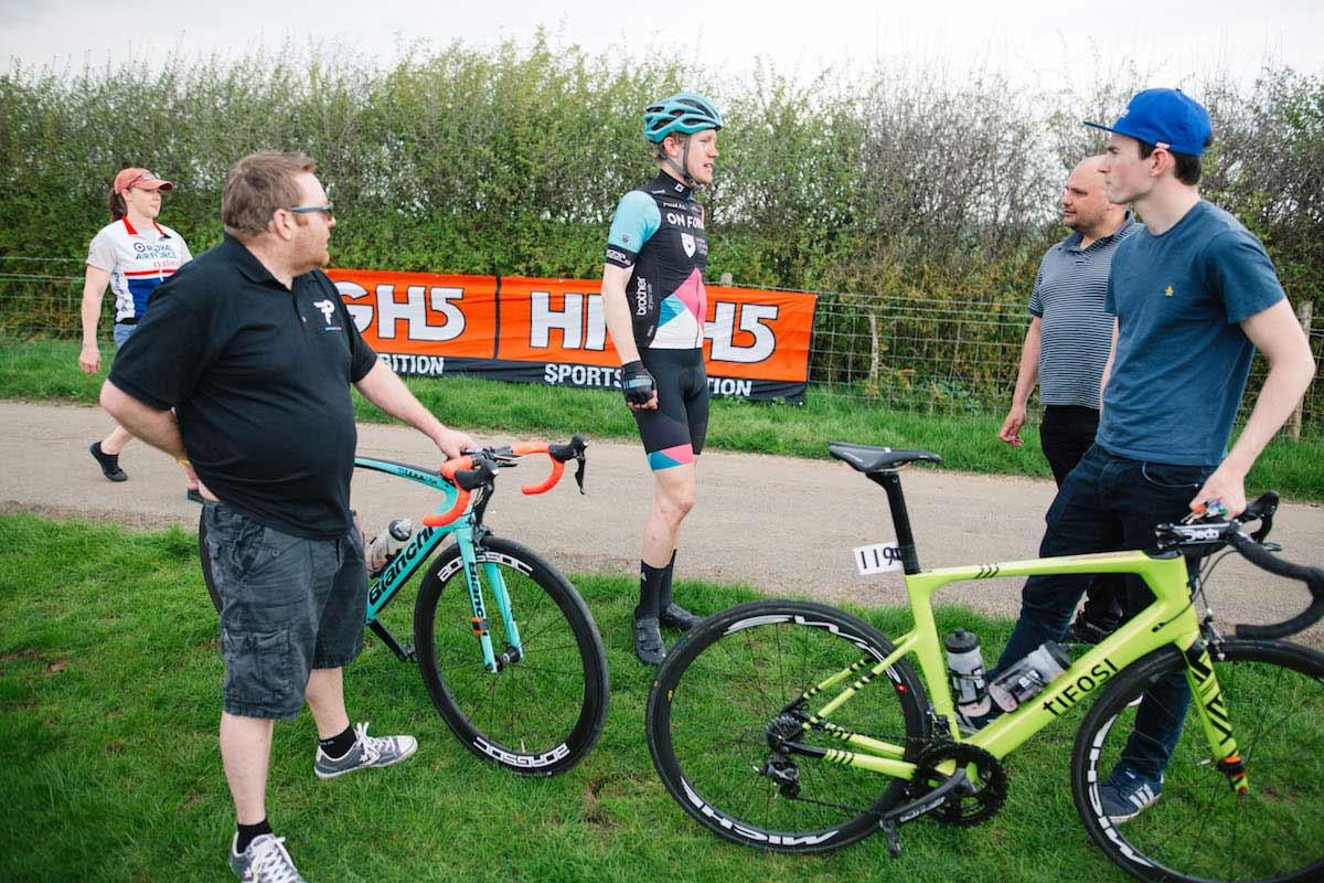 Tom Ellwood from Cycling Team OnForm