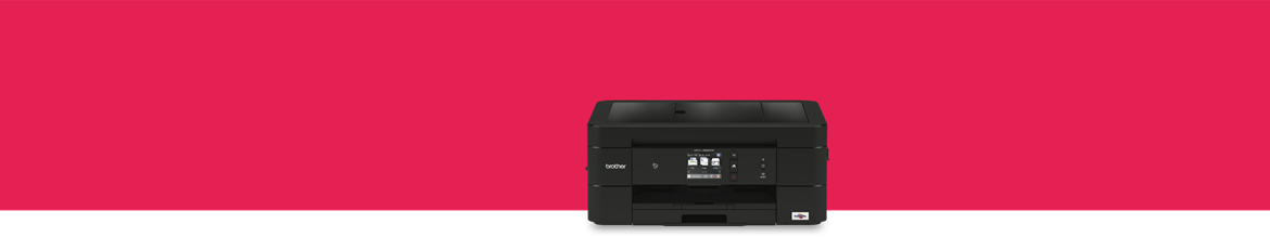 Inkjet A4 home printer on pink background