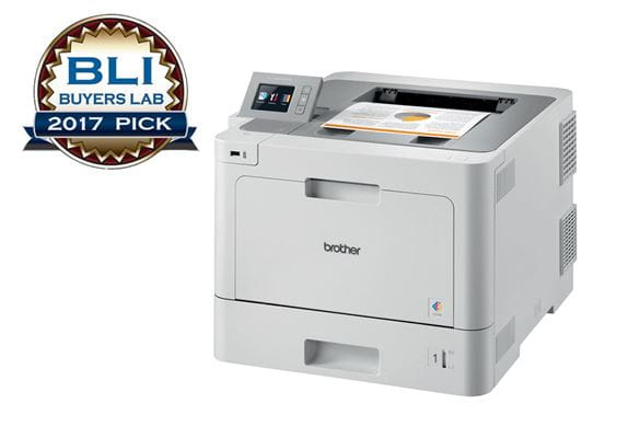Brother HL-l9310CDW colour laser printer recommended by BLI