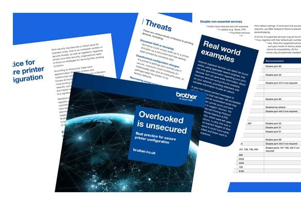 Front cover of the Overlooked is unsecured e-book