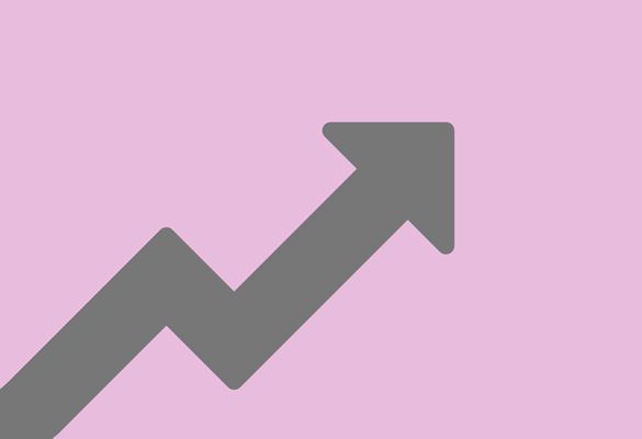 Arrow demonstrating improvements in productivity