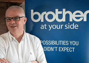 Dr Shaun O'Hanlon of EMIS attending Brother Spark Healthcare Summit