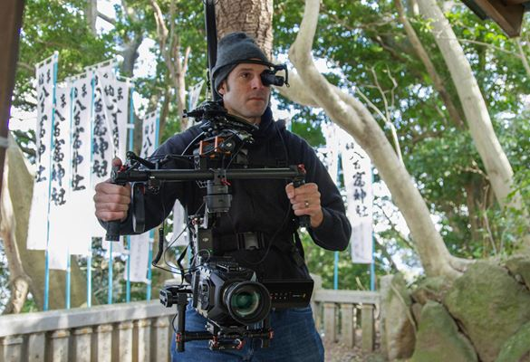 WD-370B broadcasting head mounted display