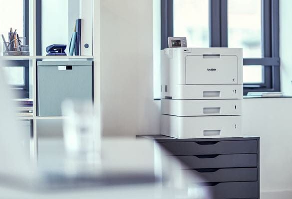 Brother printer in a retail back office environment