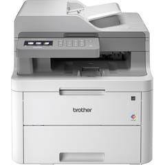 Brother DCPL3550CDW colour LED wireless printers front facing