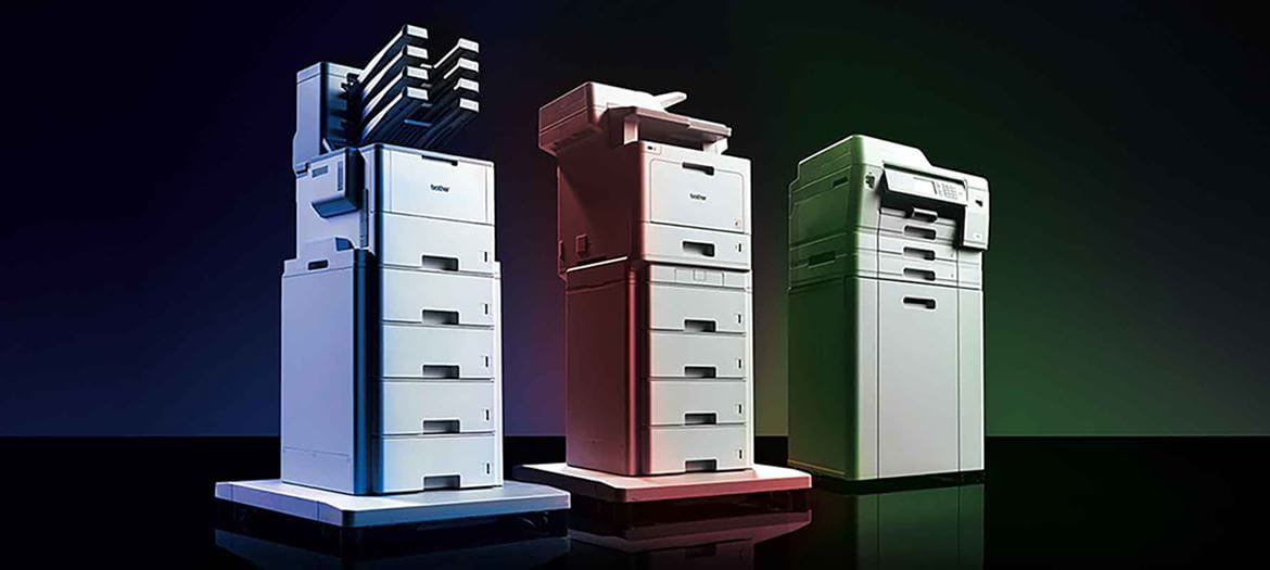 Three designed for business printers