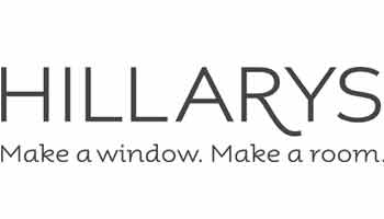 Hillary's Blinds logo