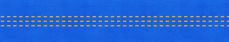 Желтый узор на синем фоне
