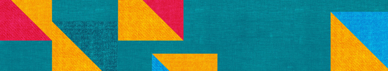 motif multicolore