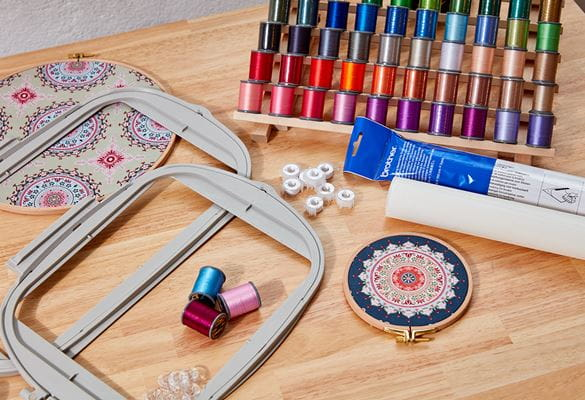Accessories for sewing, embroidery, overlock and quilting machines