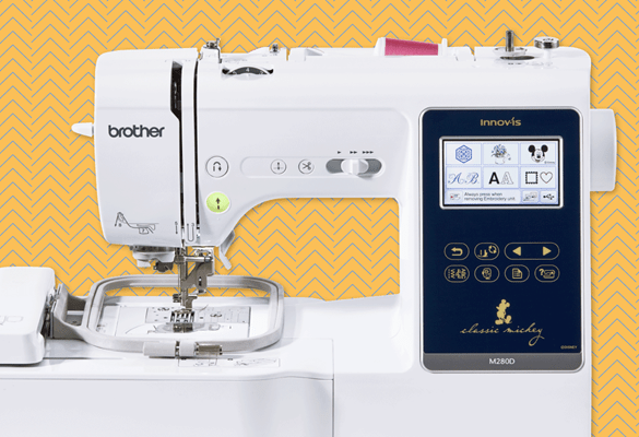 Innov-is M280D embroidery and sewing combo machine