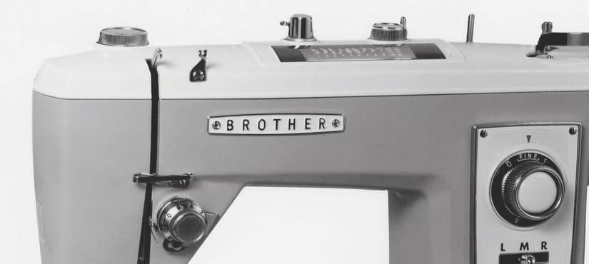 Старинная швейная машина Brother