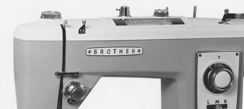 Retro-Brother-Nähmaschine
