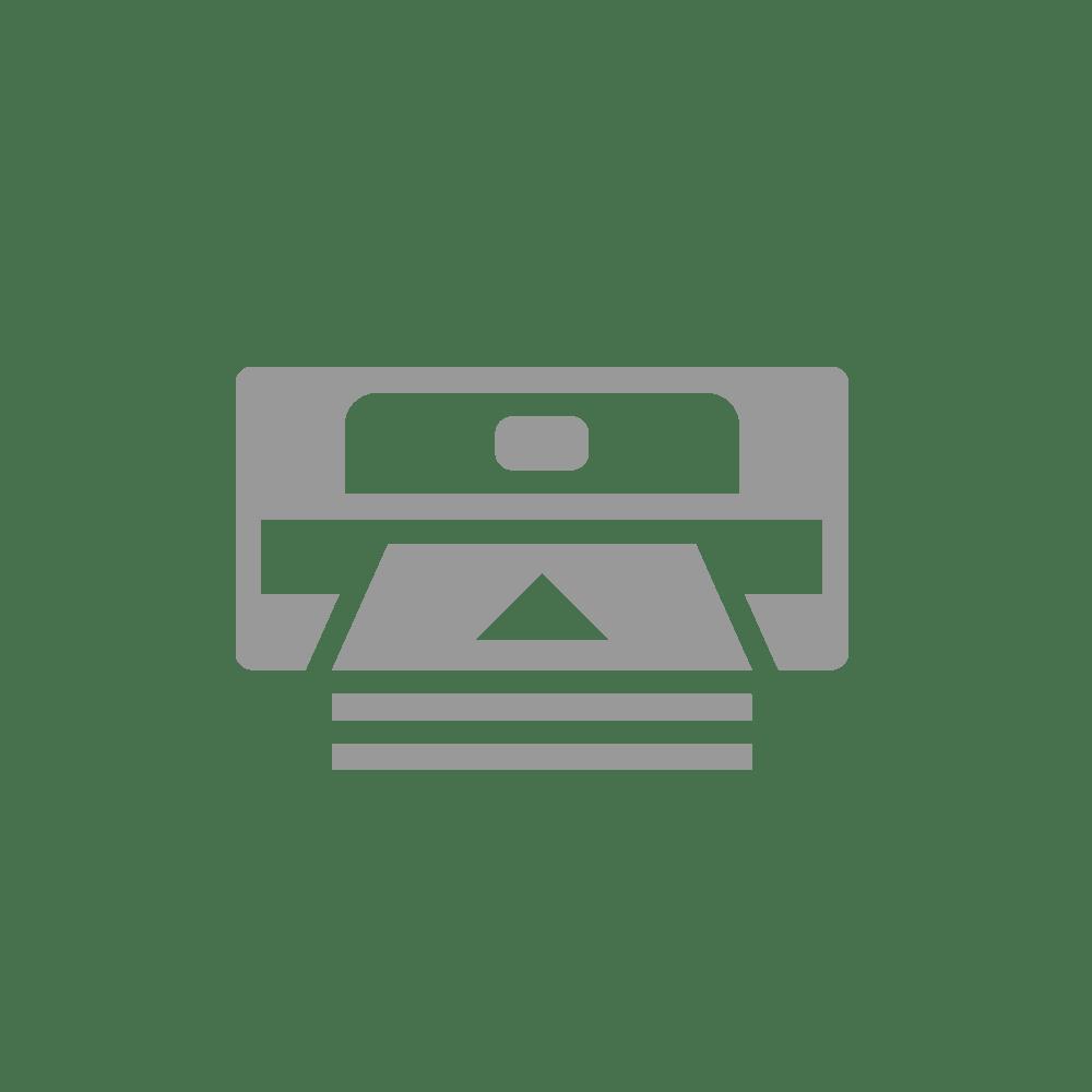 Įprastinė vaškinė/dervos terminio perdavimo juosta su juodu rašalu BSS-1D300-060