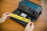 Tiskárna štítků PD-D800W s vytištěným širokým štítkem