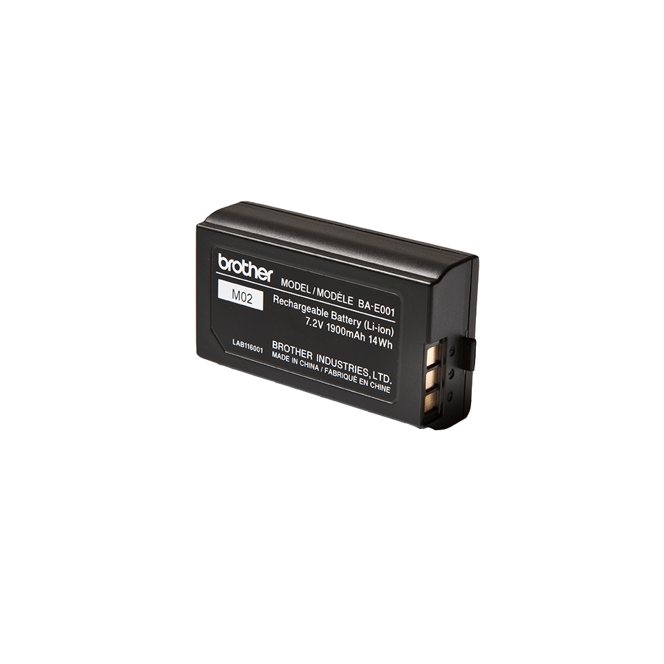 Genuine Brother BA-E001 Rechargeable Printer Battery