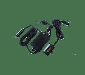 Cigarette socket battery eliminator kit white background