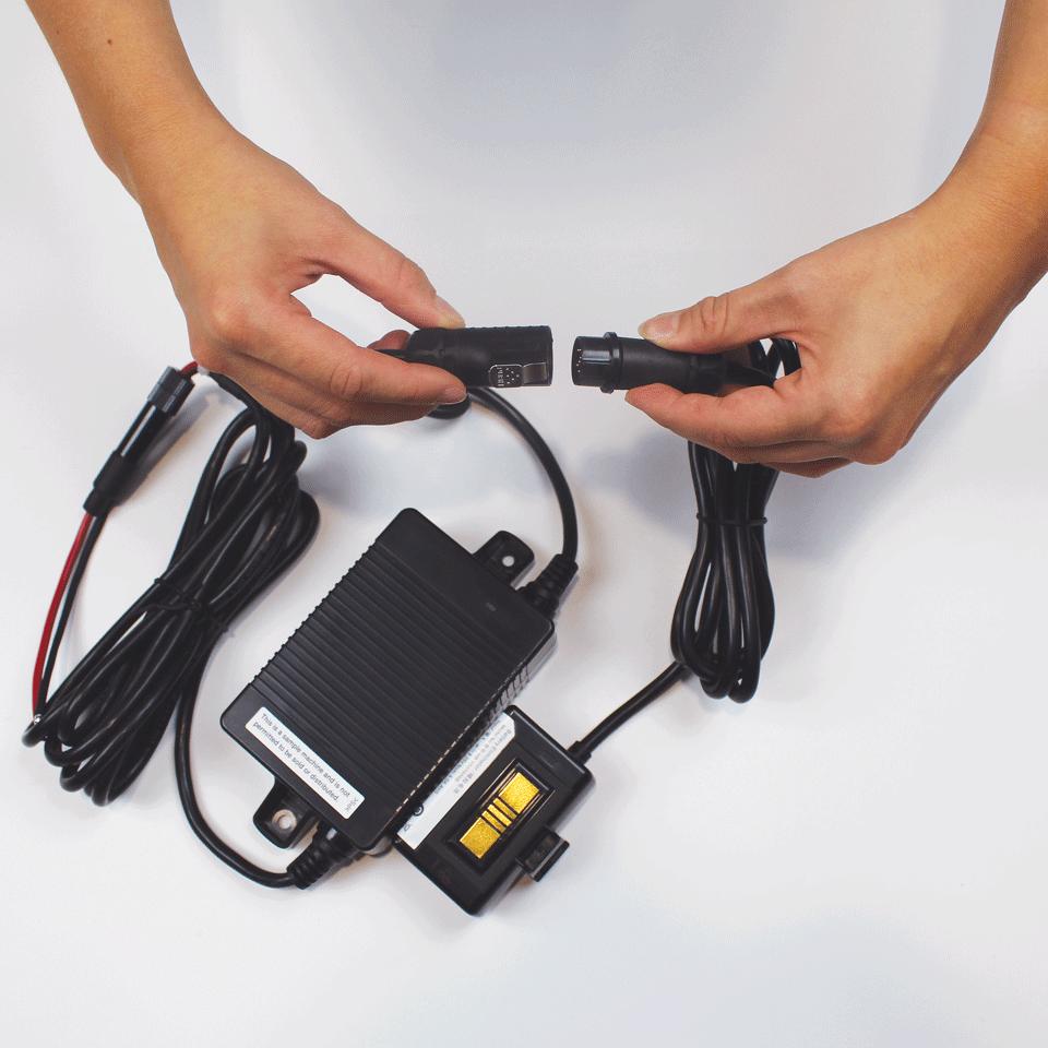 PA-BEK-001WR - zestaw eliminujący użycie akumulatora przez podłączenie do zasilania samochodu 3