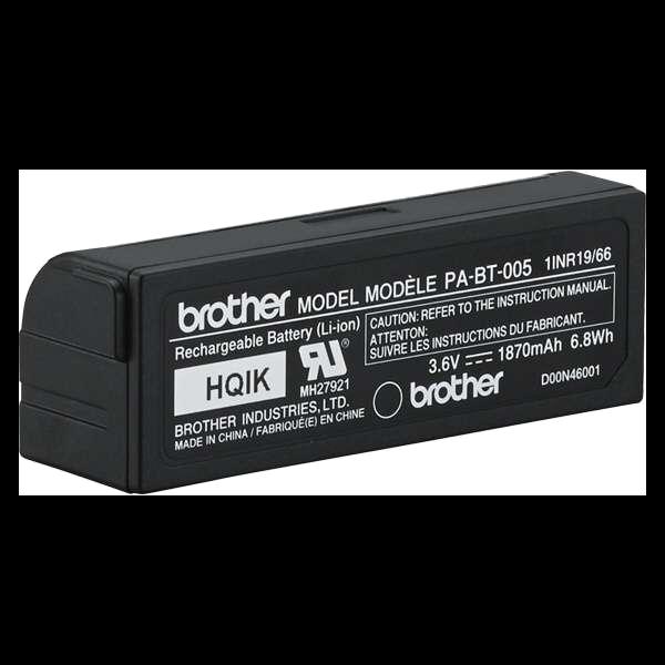 PA-BT-005 ladattava litiumioniakku (P-touch CUBE Plus -tarratulostimiin) 4
