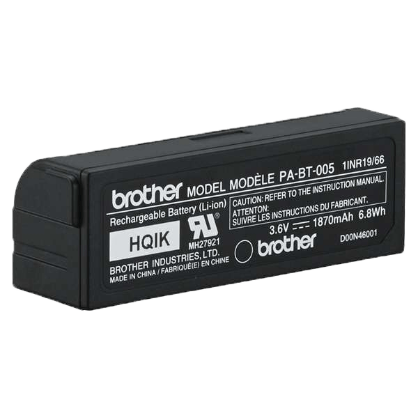 PA-BT-005 rechargeable battery (for the Brother P-touch CUBE Plus) 4