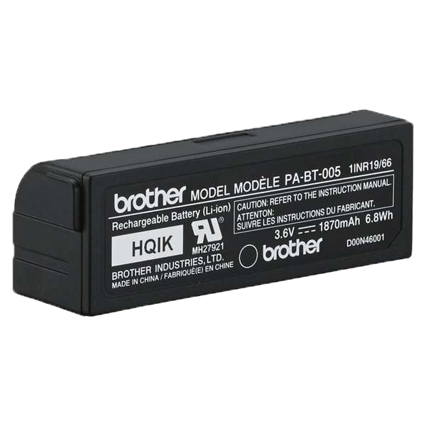 Wymienna bateria PA-BT-005 (do drukarki etykiet Brother P-touch CUBE Plus) 4