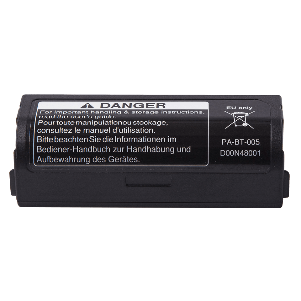 Acumulator Li-ion PABT005 față