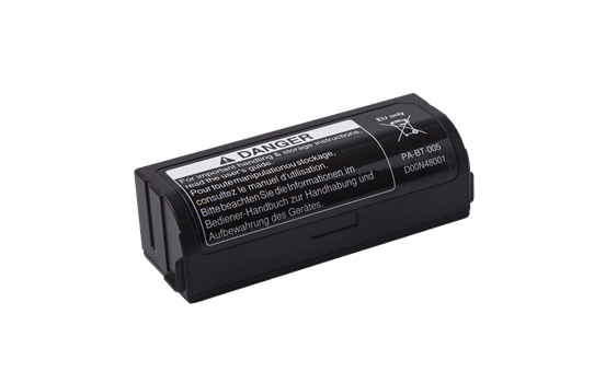 Brother PABT005 oppladbart Li-ion batteri (Passer til Brother P-touch CUBE Plus merkemaskiner) 3
