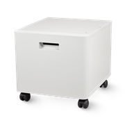Mesa pedestal blanca para impresoras ZUNTBC4FARBLASER, Brother
