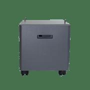 Mesa pedestal gris para impresoras ZUNTL5000D, Brother