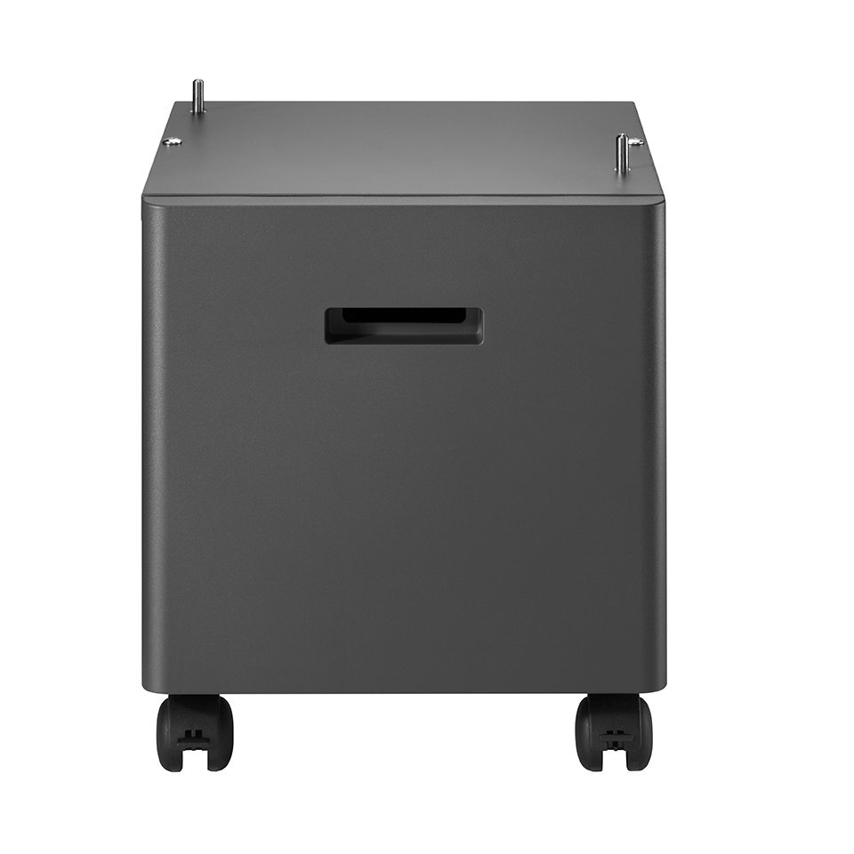 Brother L5000 mono laser dark grey cabinet facing front