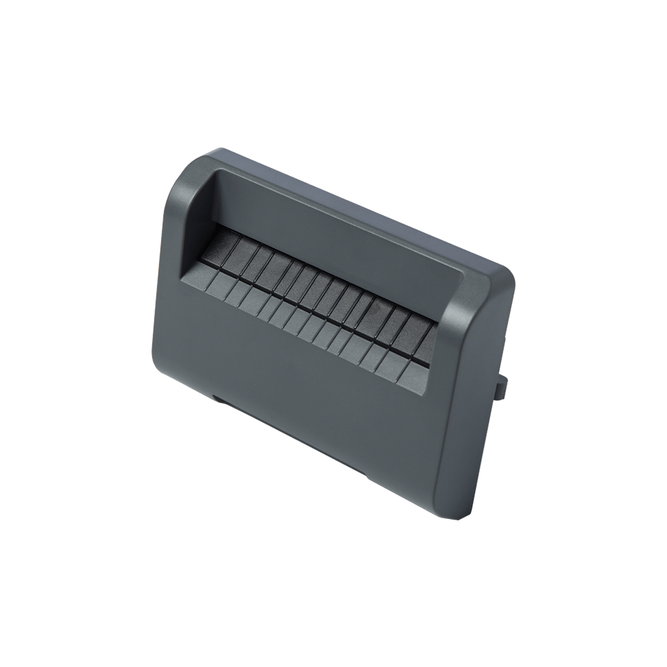 Label cutter accessory for TD-4D label printer
