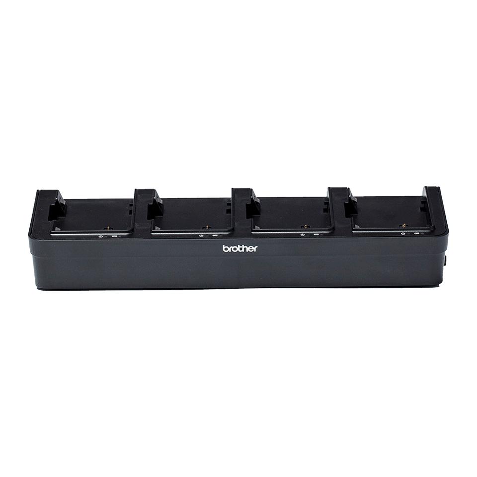 PA4BC002-Polnilnik za baterijo s štirimi postajami-prozorno ozadje-spredaj