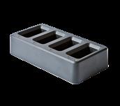 PA4BC4000EU Cargador para 4 baterías