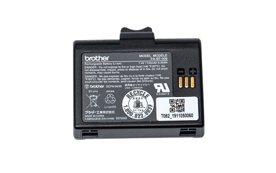 PA-BT-008 li-ion oplaadbare batterij 2