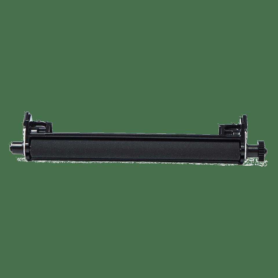 Black linerless platen roller transparent background