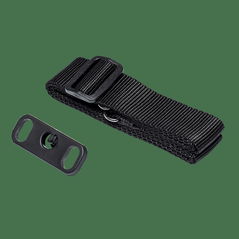 PASS001-trak za nošenje na rami z adapterjem-prozorno ozadje-spredaj
