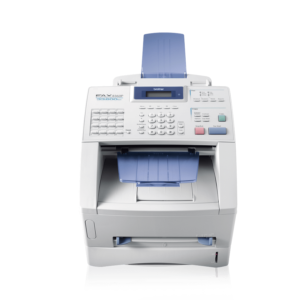 FAX-8360P High-Speed, High-Volume Laser Fax Machine 2