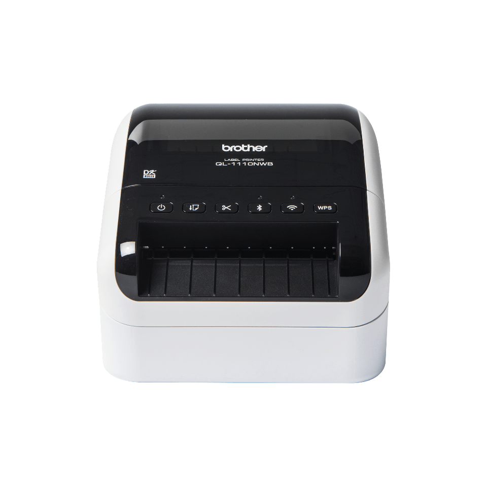QL1110NWB label printer front view