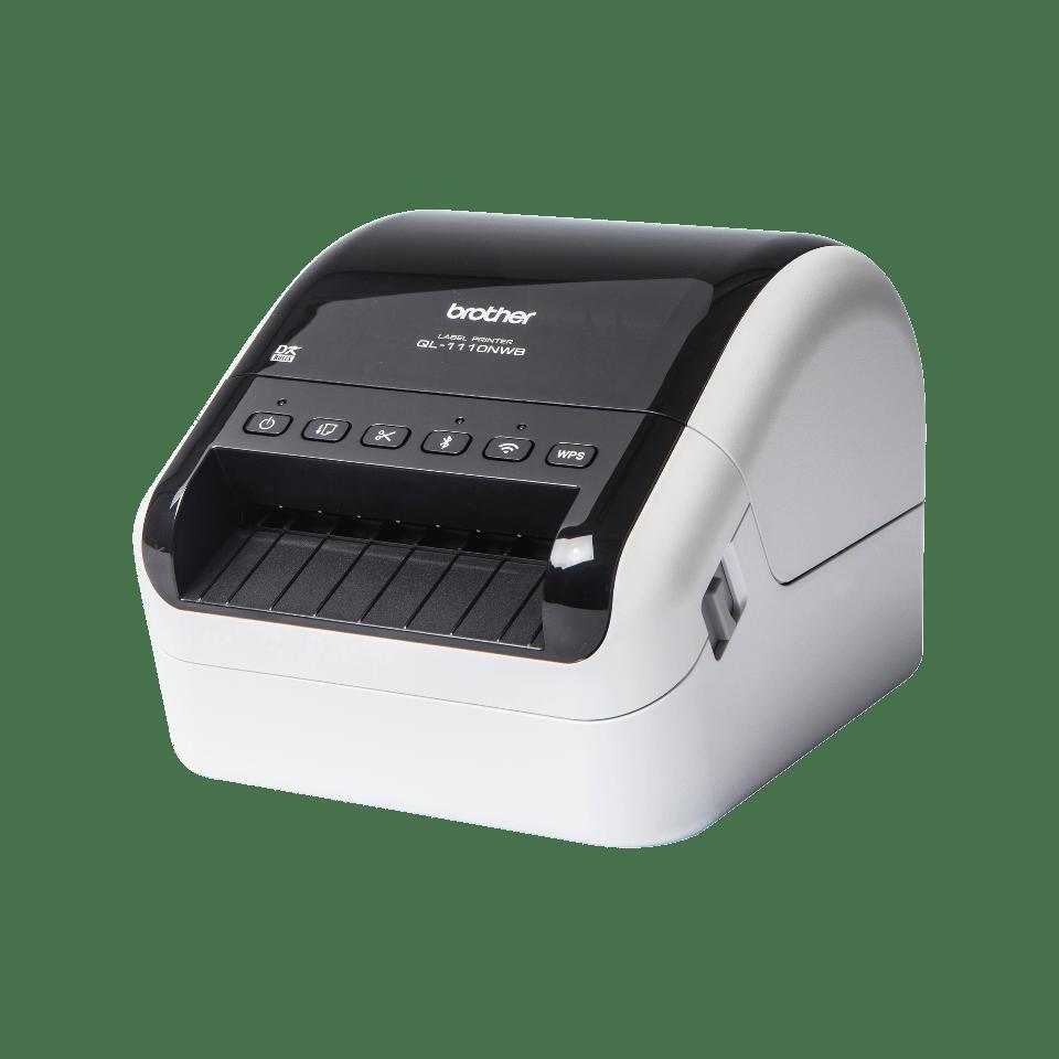 QL-1110NWB Stampante di etichette professionale per grandi formati fino a 4'', con Ethernet, Wi-Fi, Bluetooth