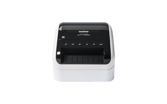 QL-1110NWB imprimante d'étiquettes de bureau 4 pouces / 102 mm pour larges étiquettes d'expédition avec codes-barres