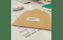 QL-600B imprimantă de etichete de livrări și adrese  4