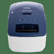 Brother QL-600B Etikettendrucker - Ansicht von vorn