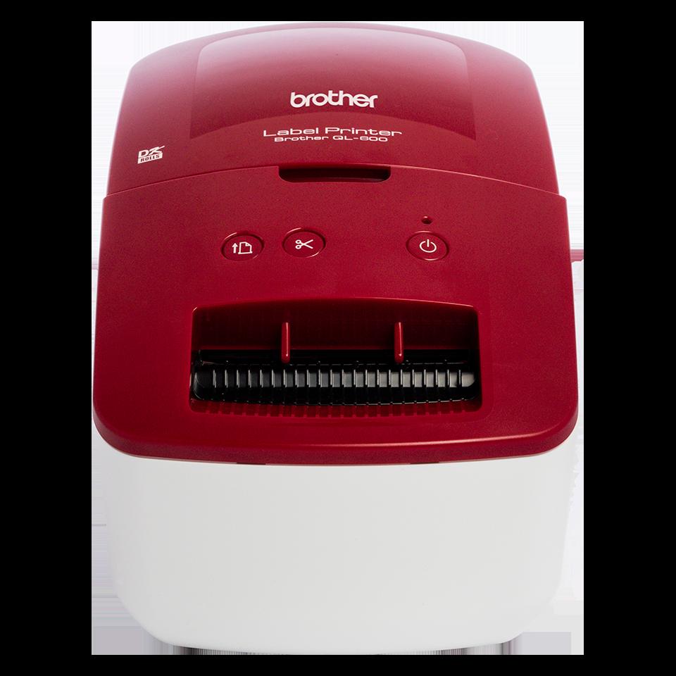 Brother QL-600R address label printer - main