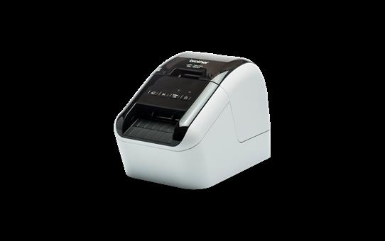 QL-800 Imprimante de bureau pour étiquettes professionnelles en noir et rouge 2