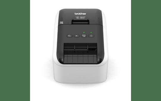 QL-800 imprimante d'étiquettes de bureau 62mm pour étiquettes professionnelles en noir et en rouge 2