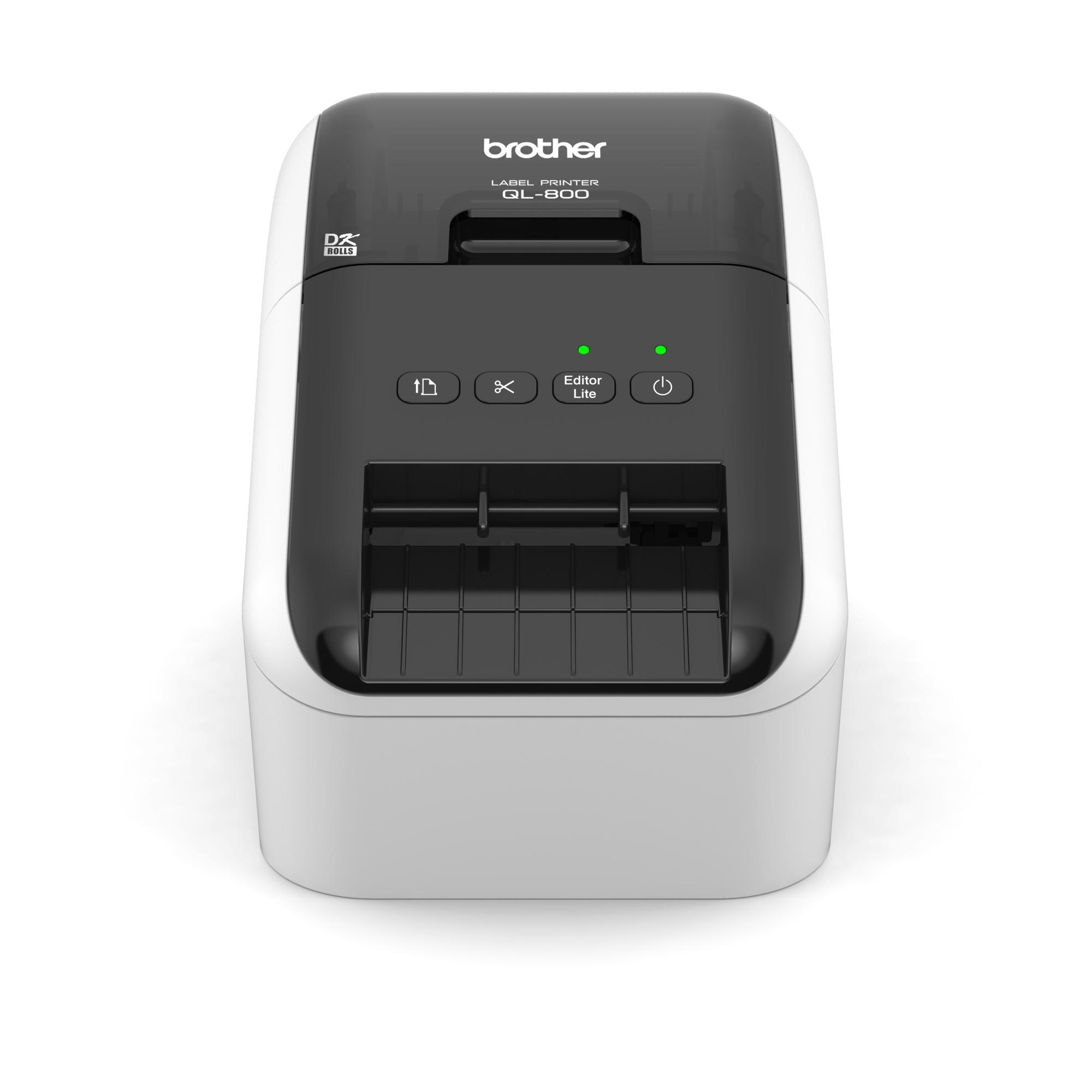 QL-800 Labelprinter front